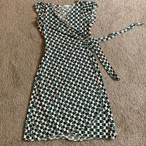 Wrap dress by max studio